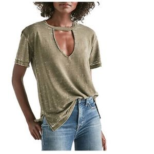 LUCKY BRAND chocker tee